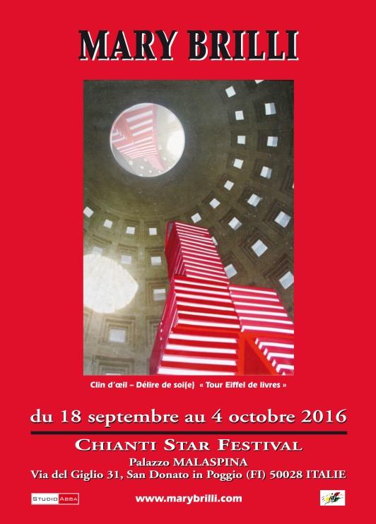 Affiche Chianti star festival 16